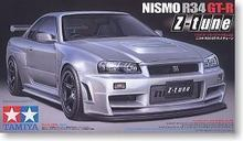 Tamiya Model 24282 Sacle 1/24 Nismo GT-R(R34) Z-TUNE Plastic Model Kit