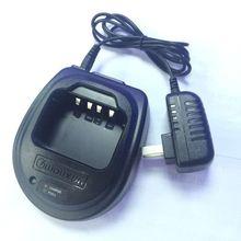 Original Desktop Radio Charger for Wouxun Portable Radio KG-UV6D KG-UVA1 KG-UV3D KG-669 Walkie Talkie AC 100V-240V DC 12V