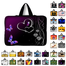 "Laptop Bag New Arrival Waterproof PC handbag 11.6"" 13.3"" 15.4 15.6 17.3"" Notebook Sleeve Compute Bag For Samsung Acer Asus HP #2(China)"