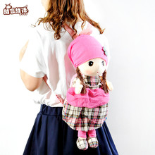 RYRY 50cm New Arrival Plush Cartoon Bags Kids Backpack School Bags Children Shoulder Bag Plush Backpack for Kindergarten Gift