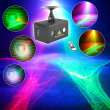 SUNY Remote Aurora Lightning Laser Light RGB LED Professional Projector Decorate Disco Stage Xmas Party DJ llumination LL-A200RG