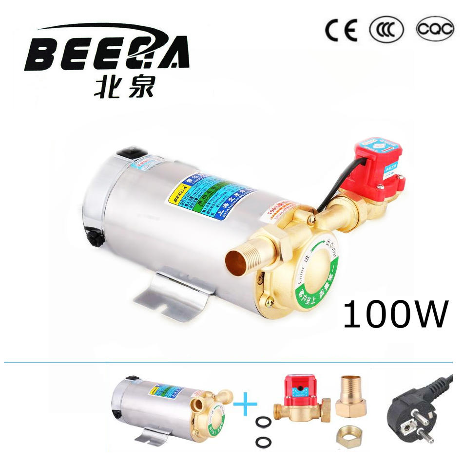 100w stainless steel body automatic cool u0026 hot water booster pump for solar water heater boosting with ce gas heating
