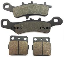 F+R Brake Pad Set fit for KAWASAKI 100 KX KX100 2006 2007 2008 2009 2010 2011 2012 1997 - 2013(China)
