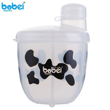 Baby Food Storage Container for Washing Powdered Milk Powder  Grill For Cook Portable Three Cell Lattice Feeding PP Box Bottles