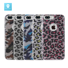 FSHANG for iphone 7 Case 3in1 Authentic Leopard Army Phone Cases Back Cover for Apple iphone 7 for iphone 7 Plus Case Luxury(China)