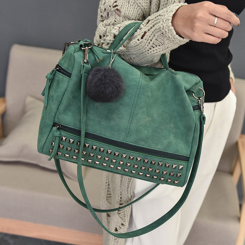 DALFR PU Leather Bags Women Solid Fashion Luxury Handbags Women Bags Designer Zipper Style Messenger Bags Famous Brands