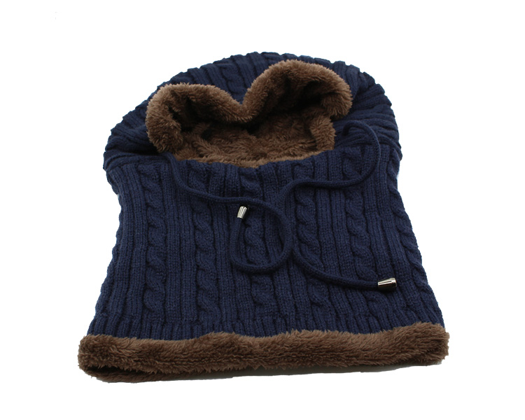 قبعة و وشاح رجالي دافئ 20
