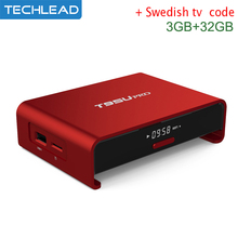 T95U Pro 3G+32G Android 6.0 TV Box With Swedish french Italian TV channel Greek Dutch India Arabic sport iptv account IUDTV apk