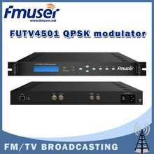 Free shipping FMUSER FUTV4501 QPSK modulator for Interactive Services, News Gathering and other Broadband satellite applications