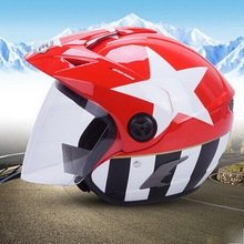 YOHE Half Face motorcycle helmet electric bicycle motorbike helmets made of ABS  YH-887A have 10 kinds of color size M L XL XXL