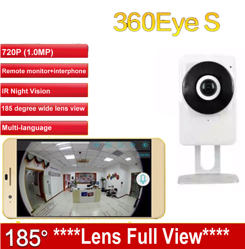 EC1 360Eye S cctv 185degree lens IPC WiFi camera Panoramic IP Camera HD 720P baby monitor Wireless  Surveillance security camera<br>