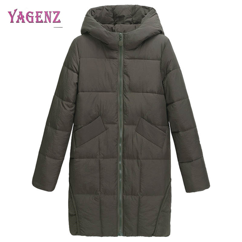 Winter Down Jacket Womens Cotton Jacket Coat 2018 High-quality Long Thicken Warm Cotton-padded Coat Women Plus size Jacket CoatÎäåæäà è àêñåññóàðû<br><br>