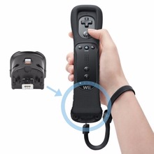 Motion Plus Remote Wireless MotionPlus Adapter Sensor for Nintendo for Wii Remote Controller Wii Nunchuk White Black Wholesale