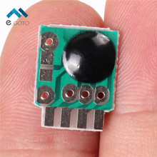 50pcs Siren Music Integration Module 3V Alarm Voice Sound Chip Module Police for DIY/Toy
