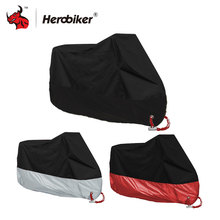 HEROBIKER Waterproof Motorcycle Cover Moto Motorbike Moped Scooter Cover Rain UV Dust Prevention Dustproof Covering M-4XL