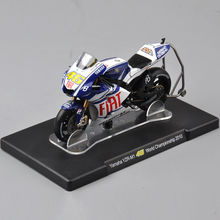1/18 Scale VALENTINO ROSSI amaha YZR-M1 46# World Championship 2010 Motorcycle Model Kids Gift Collection Gifts