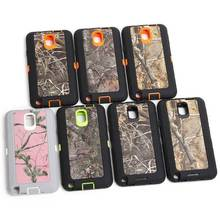 Camouflage Design Shockproof Case Cover W/ Build-in Screen Protector for Samsung Galaxy Note 3  Phone Accessory With Belt Clip