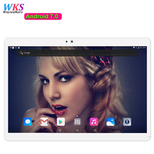 Free shipping 10 inch tablet PC 10 core Android 7.0 Phone call RAM 4GB ROM 64GB 1920x1200 IPS tablets smartphone computer MT6797
