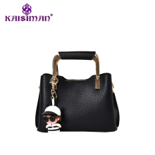 KAISIMAN Brand Design Handbag Women Simple Casual Tote Bag Female Solid Boston Bag Small Shoulder Messenger Bags Chain Purse