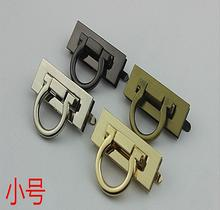 (10 PCS / lot) luggage handbags high-grade pull ring twist lock decorative buckle hardware accessories(China)