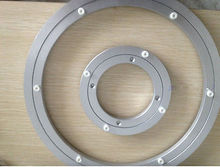 1pc new 12'' 300mm Home Hardware Aluminum Round Lazy Susan Bearing Turntable(China)