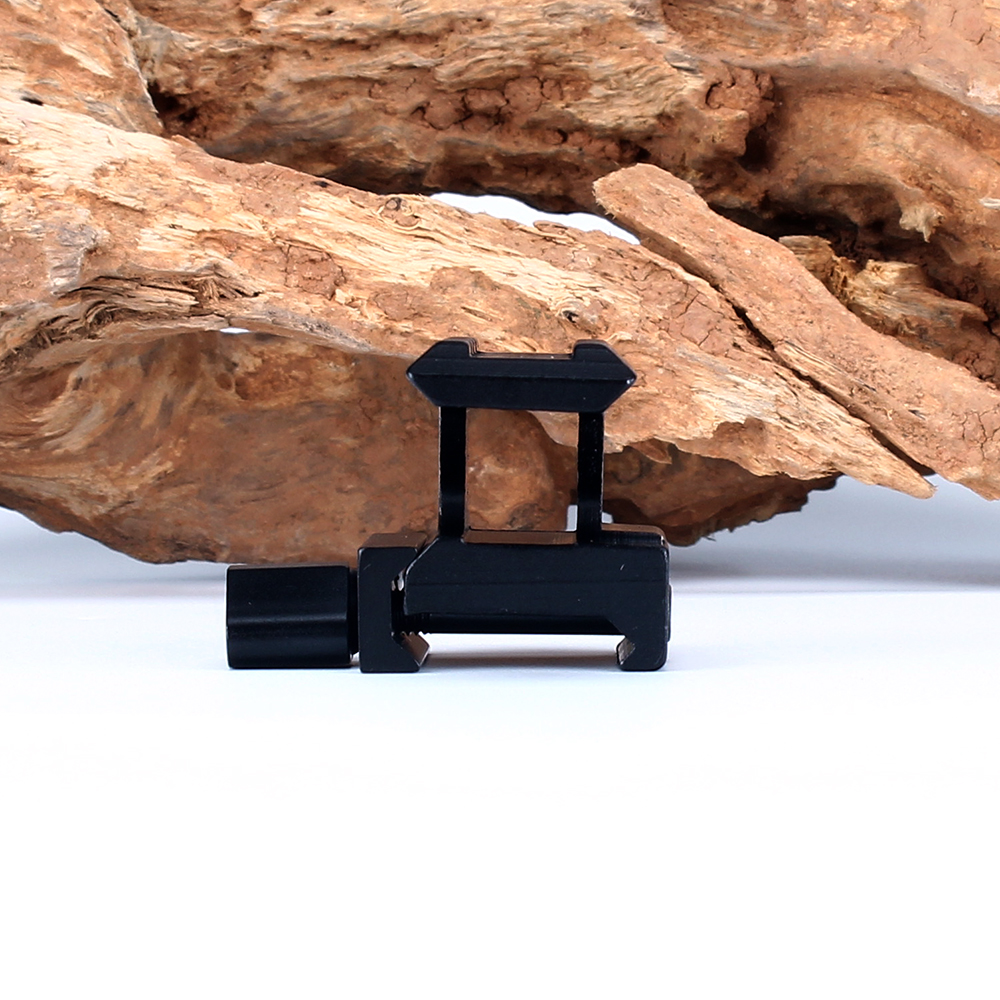 ohhunt High Profile Compact Tactical Red Dot Sight Riser Mount 3 Slots Picatinny Weaver Rail Hunting Scope Mounts Accessories (6)