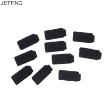 Durable PC Laptop USB Plug Cover Stopper Soft Dust Cap USB 2.0 3.0 Interface Prevent Rust Dust Plug Black 10pcs/lot Rubber(China)