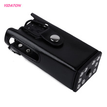 YIDATON New Walkie Talkie Leather Carrying Case PU Leather Case for Motorola 2 WAY Radio GP3688 CP150 EP450(China)