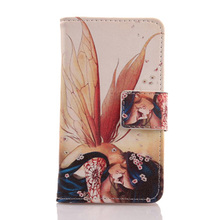 ABCTen Cell Phone PU Leather Case Card Slot Cover For Prestigio MultiPhone Grace Q5 5506 Duo 5''
