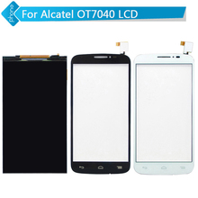 For Alcatel One Touch Pop C7 OT7040 7040 7040D 7040A 7041D LCD Display + Touch Screen Digitizer