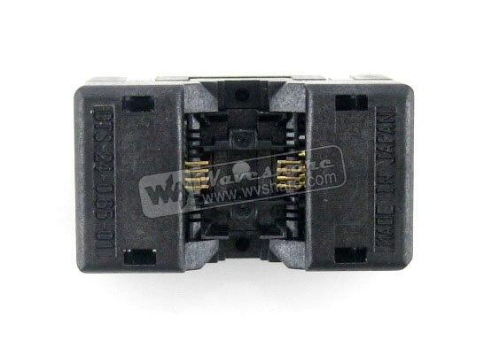 SSOP8 TSSOP8 OTS-8(24)-0.65-01 Enplas IC Test Burn-in Socket Programming Adapter 0.65mm Pitch 4.4mm Width<br>