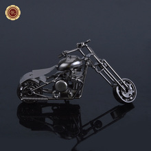 Latest Products Iron Motorcycle Model Metal Crafts Ornaments Personalized Gift Ideas Motorbike Home Accessories Ornaments