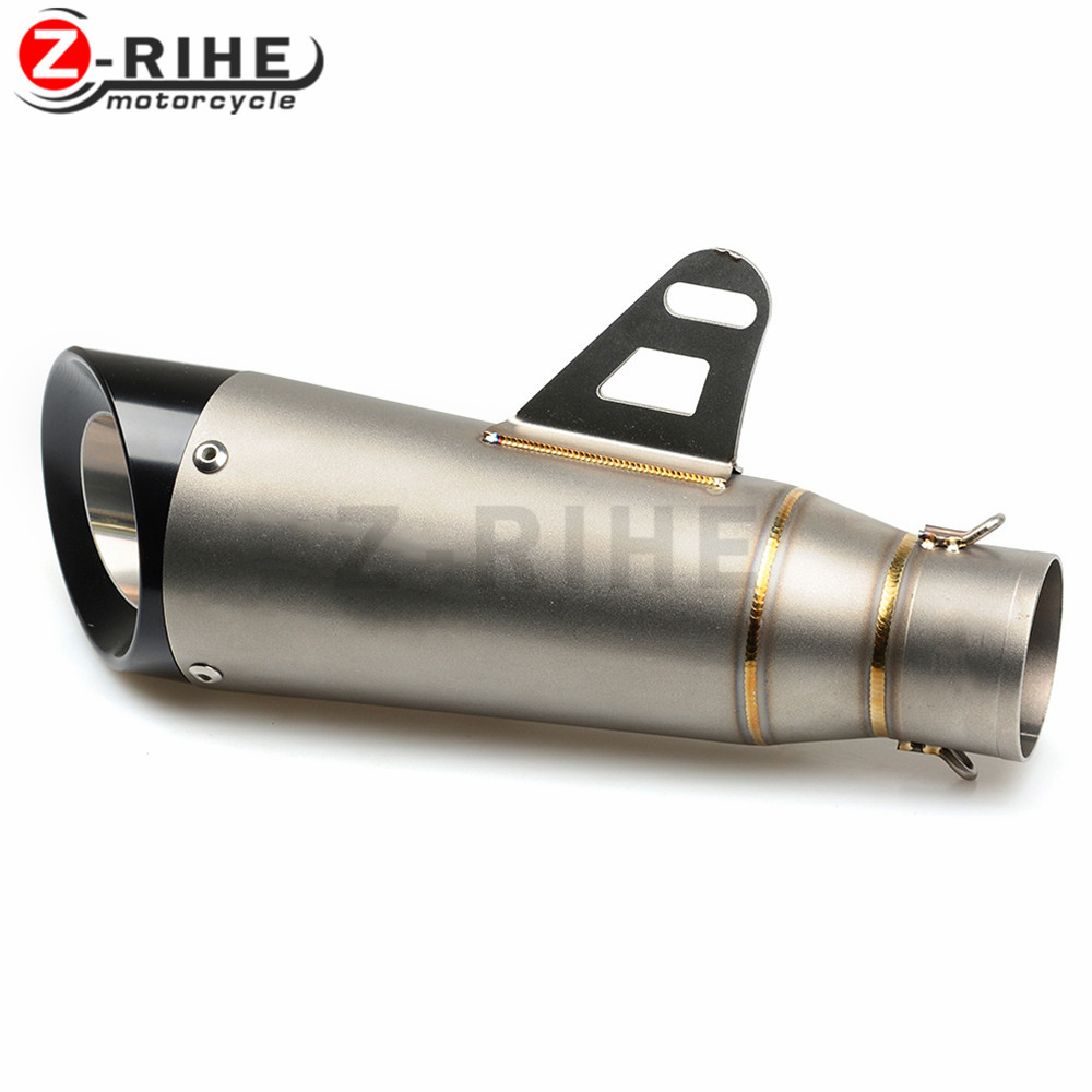 for Universal R1 New Motorcycle Exhaust Pipe fiber tube For kawasaki ducati ktm bmw SUZUKI GSF 600S BANDIT GSF 60