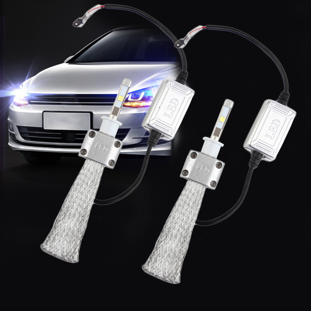 Universal Professional A8 Car Led Headlamp Bulb H3 Head Lights 40/60W 6000K White Auto Styling Vehicles Lights DC 12V<br>