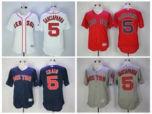 Men's Boston Red Sox Mookie Betts Chris Sale David Ortiz Dustin Pedroia Pedro Martinez GARCIAPARRA jerseys(China)