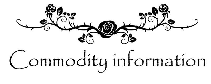 commodity info