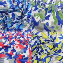 150cm * 450cm Camouflage printed fabrics children 's clothing coat jacket fabric 40D polyester clothes material