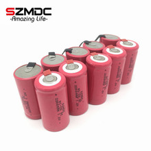 SZMDC 10 Pieces/Lot 22*42mm Sub C SC Rechargeable Battery 1.2V 2200mAh NI-CD Batteries With PCB For Electronic Tools(China)