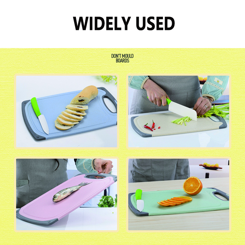HADELI Antibacterial Chopping Board Multifunction PP Plastic Heat Resistant Dishwasher Blocks Cutting Boards Kitchen Tools 3