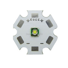 Cree XP-E R2 Cool White 8000-10000K 1-3W 350-1000mA Led Emitter Light On 20mm PCB Board LED Emitter For DIY Torch Flashlight
