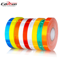5x300cm Car Reflective Tape Stickers Auto Motorcycle Bicycle Safety Reflective Material Film Warning Tape Car Styling Decoration(China)