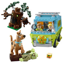 10430  Bela  305pcs The Mystery Machine Scooby Doo Fred Shaggy Zombie Zeke Mini toys building blocks Compatible with Le