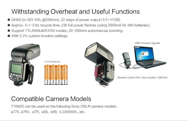 Godox TT685S For Sony Camera Flash (18)
