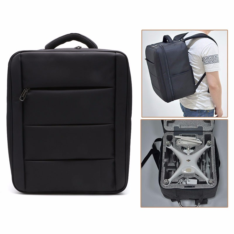 THINKTHENDO Hot Sell Backpack Shoulder Carrying Bag Case For DJI Phantom 3/4 Professional Advanced