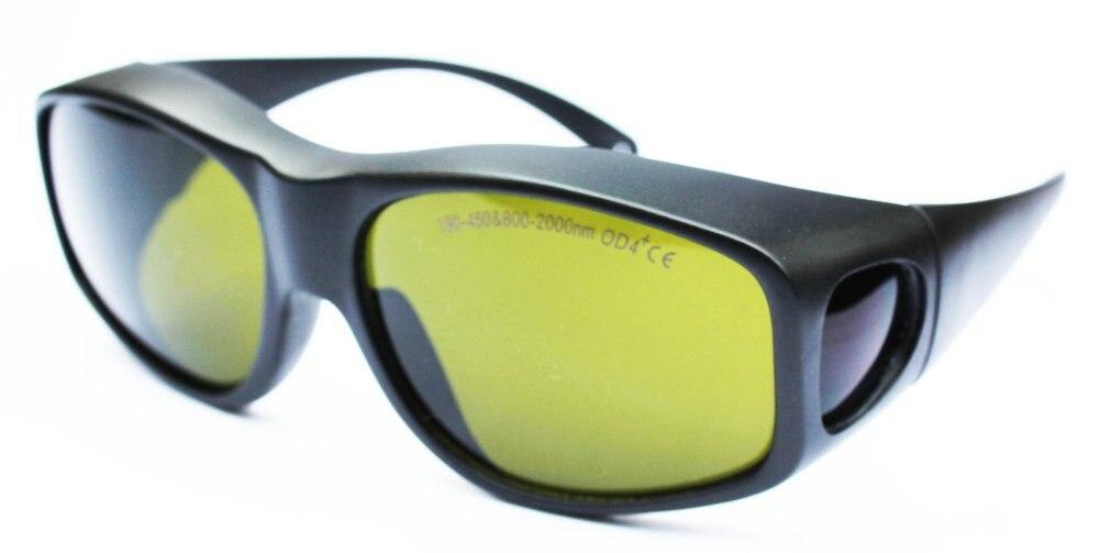 190-450nm &amp; 800-2000nm laser safety glasses/laser safety eyewear/laser safety goggle/ O.D 4+ CE certified<br>