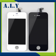10PCS/LOT LCD For iPhone 4 Digitizer Assembly With Lcd Touch Screen Replacement For iPhone 4 Display Free Shipping