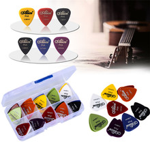 50pcs guitar picks 1 box case Alice acoustic electric guitar accessories musical instrument thickness 0.58-1.5 New Design Y14