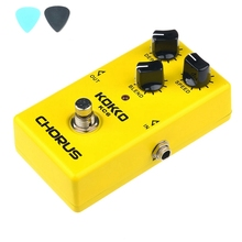 KOKKO KC6  Chorus Electric Guitar Effect Pedal Stompbox Nice Quint Full bodied 12-String Sounds Guitar Accessories