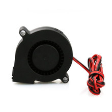 1PC 12V 2Pin Brushless Blower DC Cooling Fan 5015 50x50x15mm 3D Printer Extruder(China)
