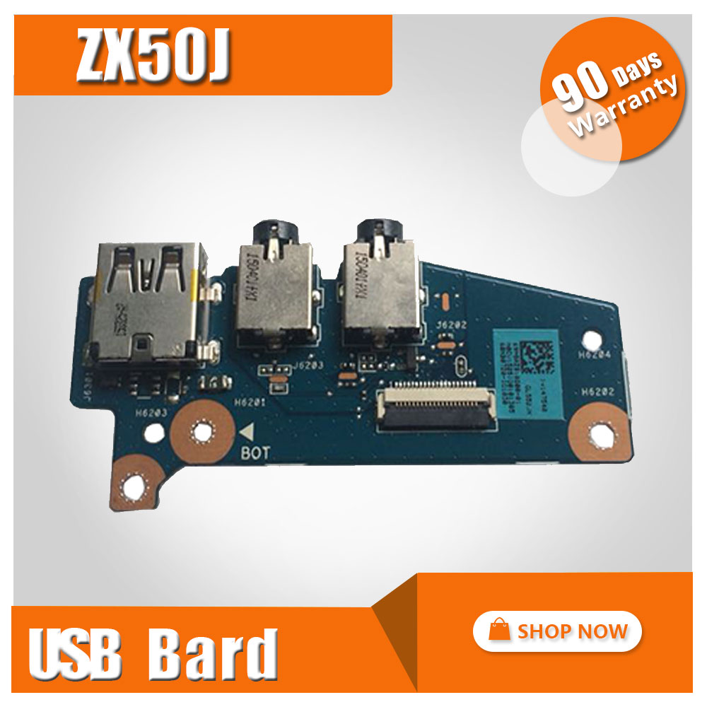 For asus laptop switch board zx50j notebook USB small board audio board<br>